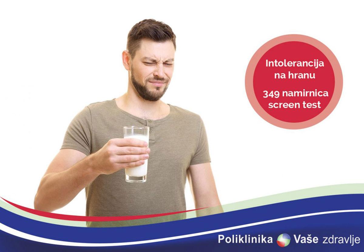 Intolerancija na hranu Tuzla