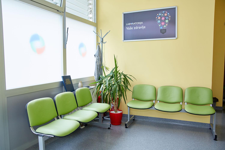 Poliklinika Vaše zdravlje laboratorija čekaonica 2