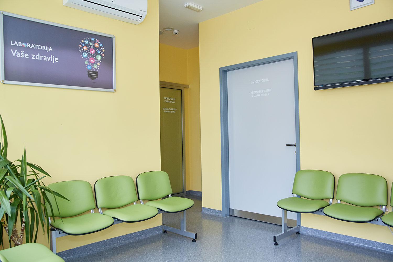 Poliklinika Vaše zdravlje laboratorija čekaonica