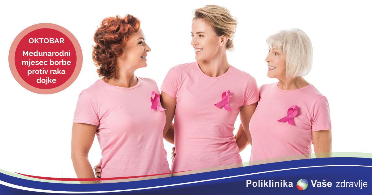 Medjunarodni mjesec borbe protiv raka dojke