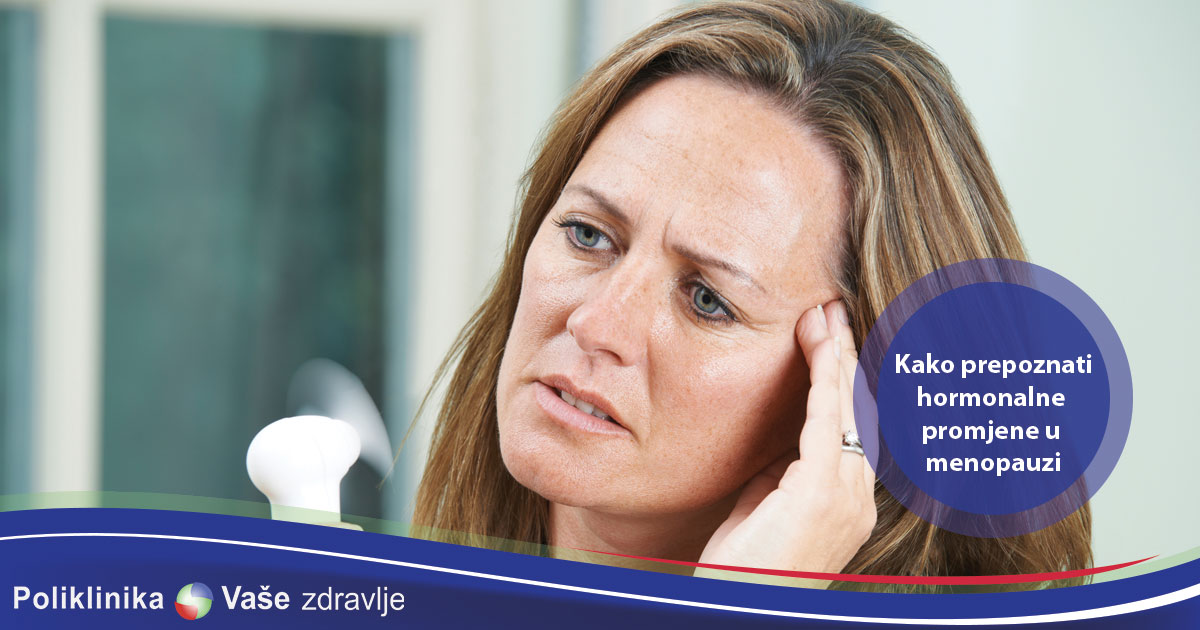 Žene su tokom cijelog života podložne promjenama i nepravilnom odnosu hormona koji uveliko mogu uticati na zdravlje organizma. Koje su promjene specifične za razdoblje menopauze i koje rizike nose sa sobom? Obzirom da je menopauza razdoblje u kojemu se događaju brojne promjene u lučenju i djelovanju hormona jajnika i hipofize, pa time nastaje i niz simptoma, žene u menopauzi su česti pacijenti u zdravstvenim ustanovama. Interesantno, razlog zbog kojega budu upućene na pregled endokrinologu nije sama menopauza, već sumnja na bolest endokrinih žlijezda, poput na primjer štitnjače, obzirom da se simptomi menopauze često preklapaju s različitim bolestima/stanjima. Menopauza se najčešće javlja oko 50. godine života, ali simptomi koji je nagovještaju mogu započeti značajno prije. Endokrinologu budu upućene i mlađe žene kod kojih se u sklopu obrade izostanka menstrualnog ciklusa ili neplodnosti postavi sumnja na preuranjenu menopauzu. Ove žene često i nemaju specifičnih tegoba koje prate menopauzu, poput vrućih valova, nesanice, promjena raspoloženja, ponekad s pojavom depresije, glavobolja ili oscilacija u tjelesnoj masi, često sa sklonošću njenog povećanja. Većina žena koje dolaze na pregled uglavnom se najviše žale na znojenje i vruće valove koji se znaju javiti iznenada, remetiti im kvalitetu života, ali ih i buditi noću, što zna pogoršati ionako često prisutne probleme sa snom. Isto tako, žene imaju često i probavne smetnje, poput nadutosti, bolove u trbuhu te porast tjelesne mase, usprkos jednakim prehrambenim navikama. Znaju se potužiti i na probleme s mokrenjem i bolnim spolnim odnosima, što odražava smanjeni učinak estrogena na sluznicu mokraćnih puteva. Laboratorijski nalazi koji, uz izostanak menstruacije te spomenute simptome sugeriraju da je riječ o menopauzi su visoke razine FSH (folikulostimulirajući hormon koji luči hipofiza) i LH (luteotropnog hormona, takođe iz hipofize), uz nizak estradiol i njih obično najčešće i određujemo u svrhu potvrde menopauze. Ko