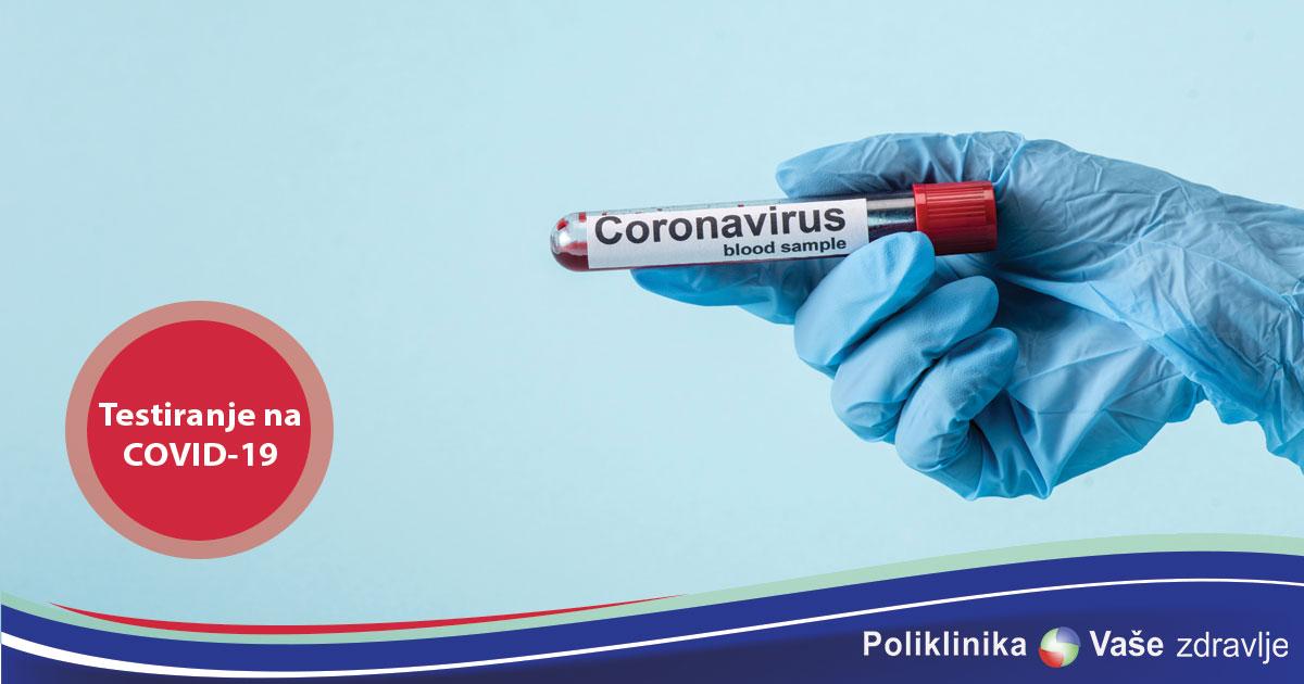 Testiranje na COVID-19 u Poliklinici Vaše zdravlje Tuzla